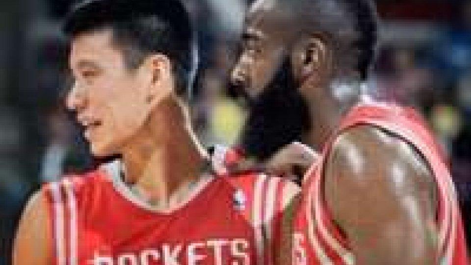 Jeremy Lin e James Harden: 66 punti sono arrivati dalle loro mani
