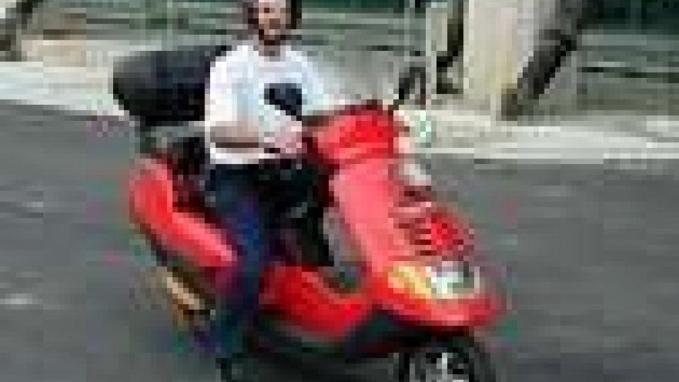 Multato scooterista