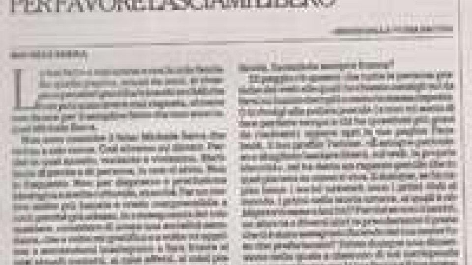 """Falsi profili su Facebook: Michele Serra su """"la Repubblica"""" chiede di essere lasciato libero"""