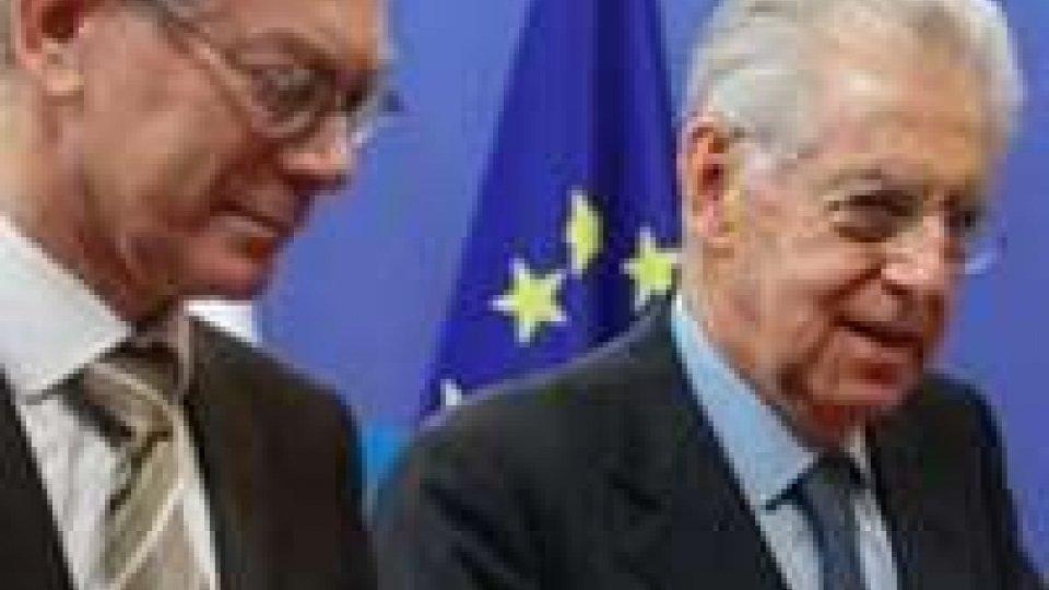 Bilancio Ue: Monti soddisfatto del risultato