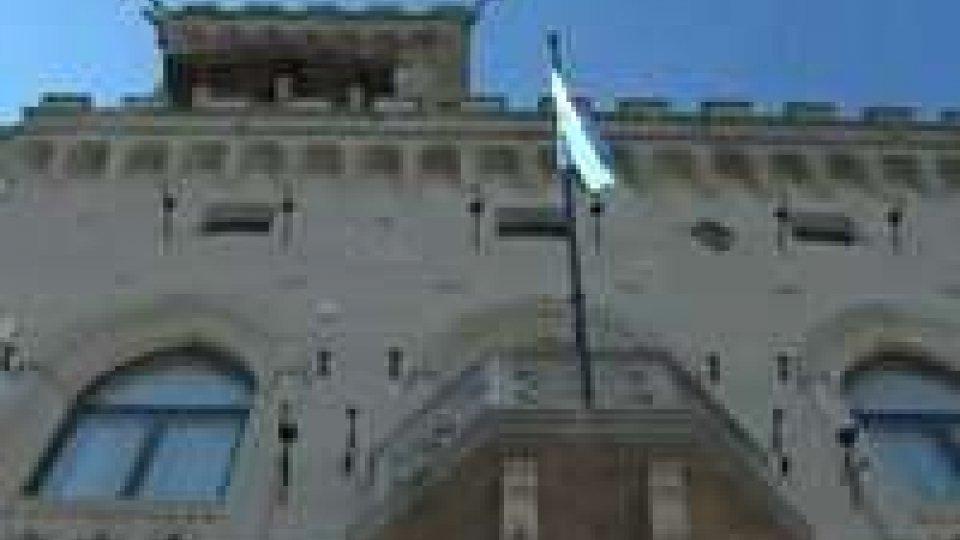 Lettere credenziali per 8 nuovi ambasciatoriPalazzo Pubblico: le Credenziali degli Ambasciatori