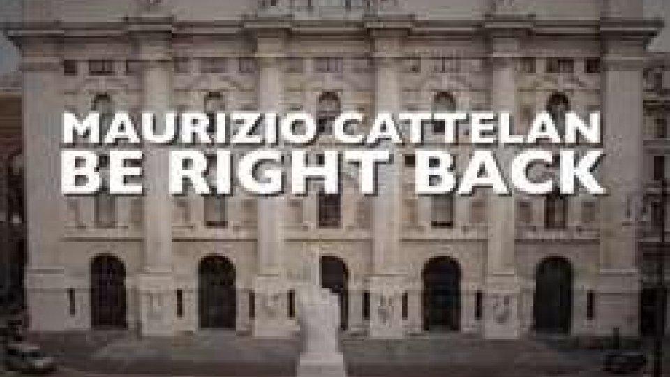 Cattelan  in un film a Borgo MaggioreTORNO SUBITO! Cattelan  in un film a Borgo Maggiore