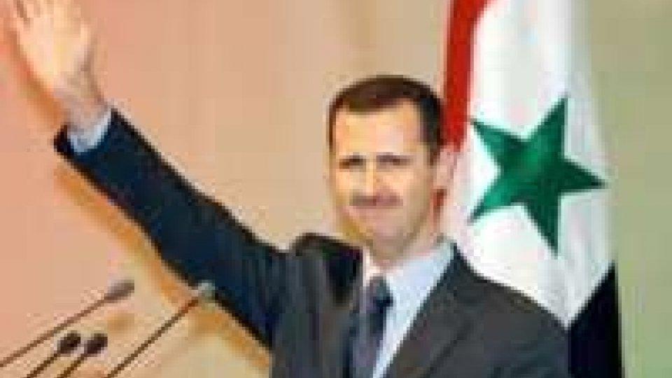 """Siria, Assad: """"annuncerò la vittoria a breve"""""""