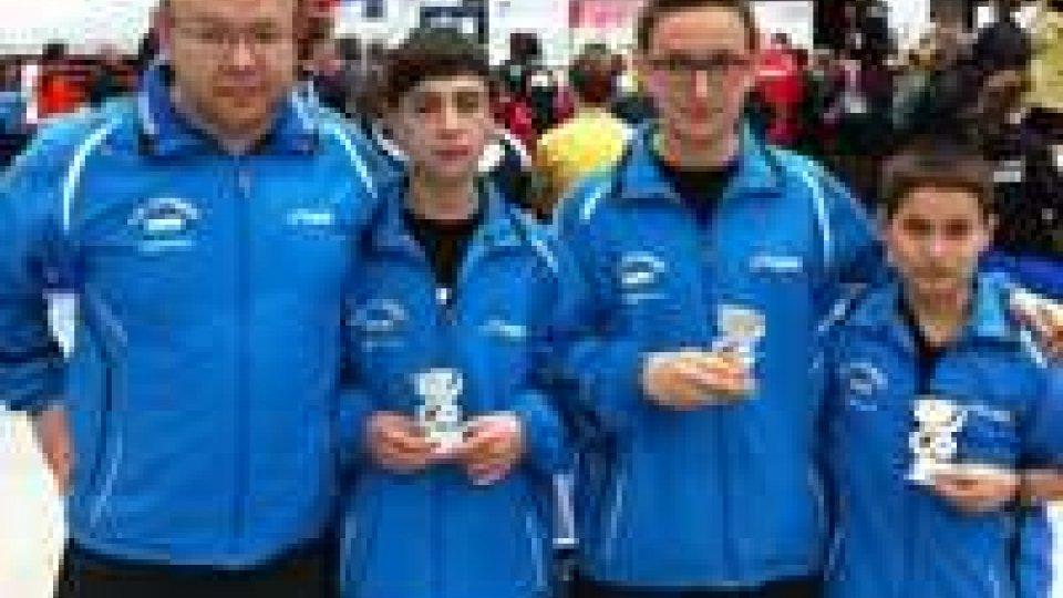 Tennis tavolo: gli allievi sammarinesi terzi a Linz, undicesima la squadra Junior