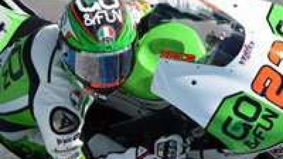 Brno, Moto3: strepitosa prima fila per Niccolò Antonelli