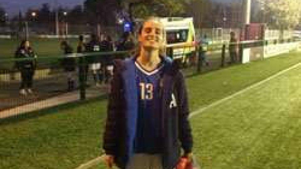 Calcio femminile: Nicole Micciarelli in maglia azzurra