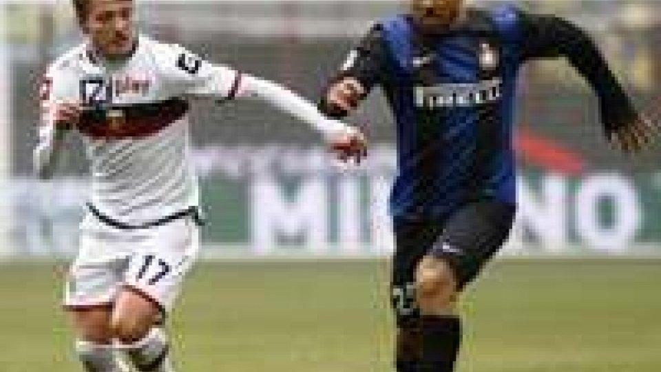 L'Inter impatta 1-1 con il Genoa: Juve a +9