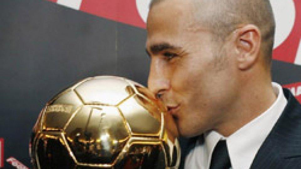 Fabio Cannavaro vince il Pallone d'Oro
