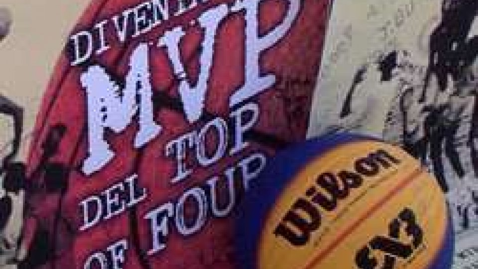 "Diventa MVP del Top of FourIl basket romagnolo si sposta in spiaggia: presentato il tour ""MVP Top4"""