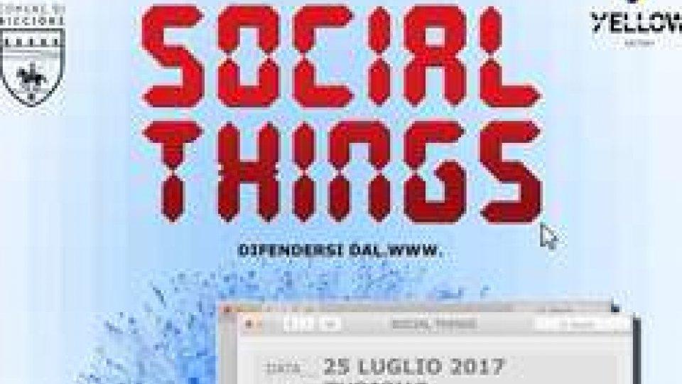 """Per il ciclo Social Things, il 25 luglio (ore 21) di parlerà di """"Turismo"""" nel giardino di Yellow Factory, con ospiti d'eccezione"""