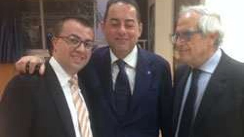 Simone Celli e Gianni Pittella