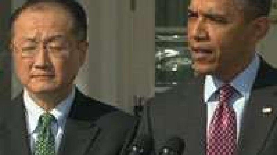 Il medico Jim Yong Kim sarà presidente della Banca mondiale