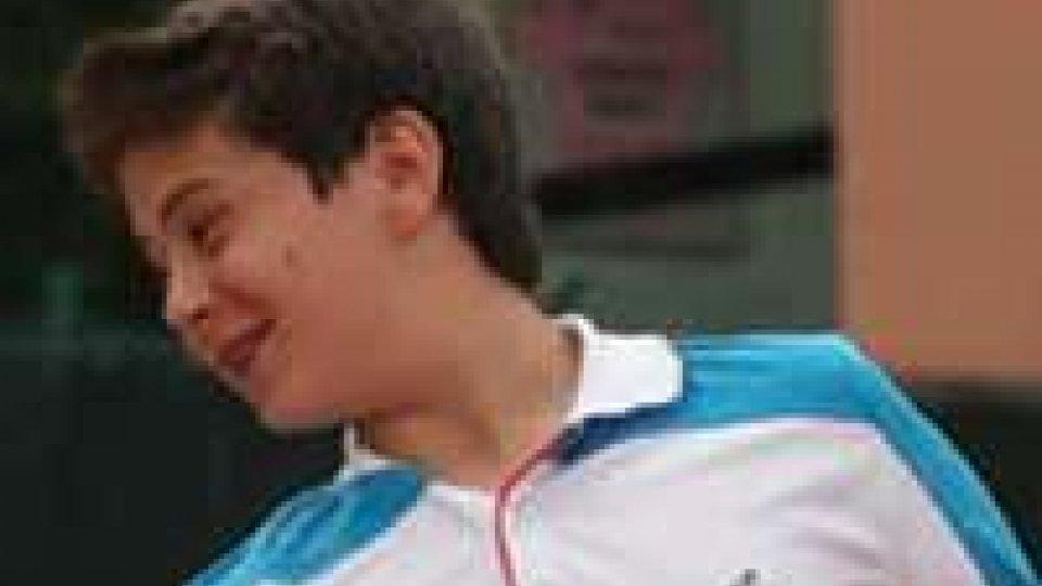 Tennis, Open di Cesena: avanza De Rossi