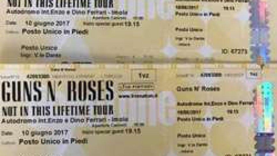 Biglietti Guns n' Roses