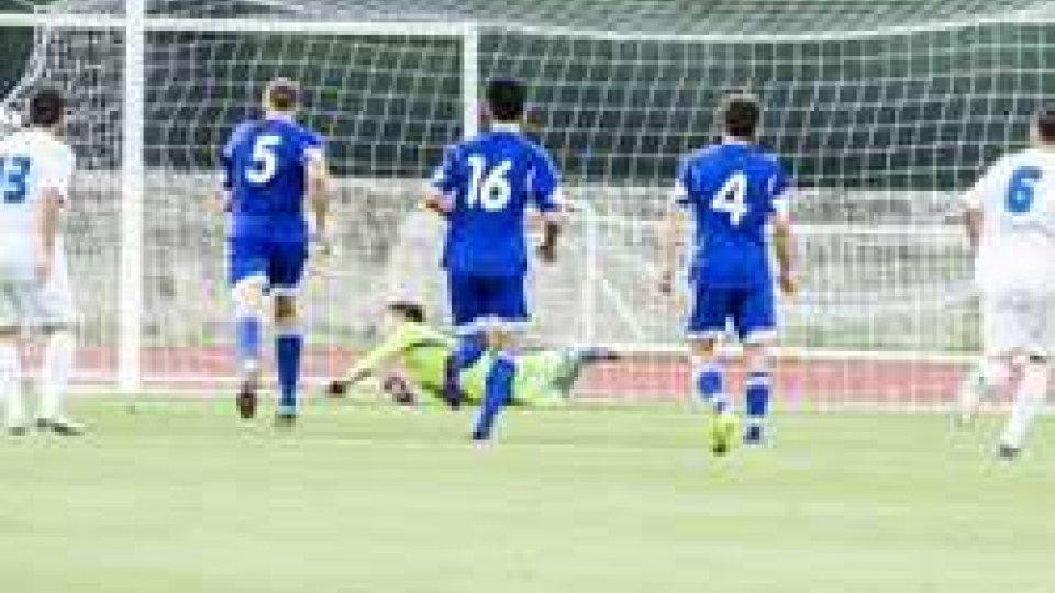 il gol della GreciaCoppa delle Regioni Uefa: Grecia batte Kazakistan 4-0