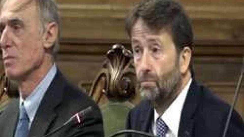 """Il ministro Franceschini: """"300 milioni di euro destinati al patrimonio culturale""""Il ministro Franceschini: """"300 milioni di euro destinati al patrimonio culturale"""""""