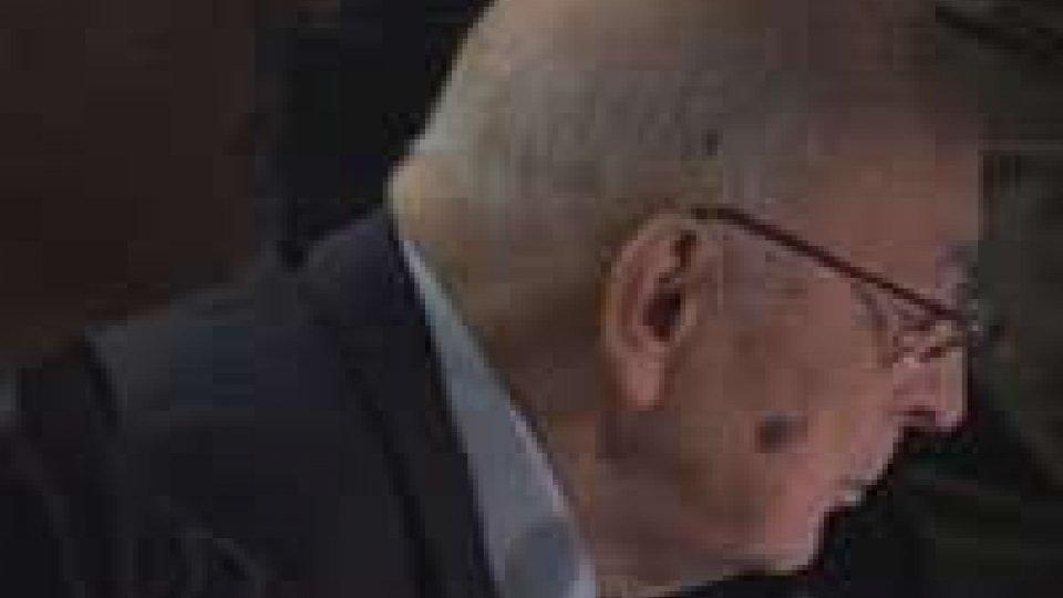 Napolitano ha parlato in videoconferenza coi militari italiani