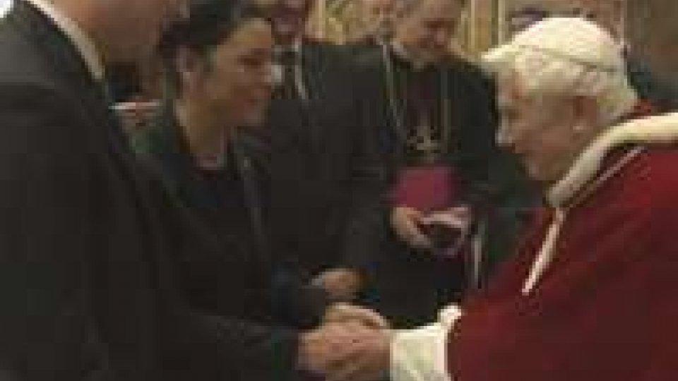 Reggenti in visita al Santo Padre: gratitudine per la visita in Repubblica