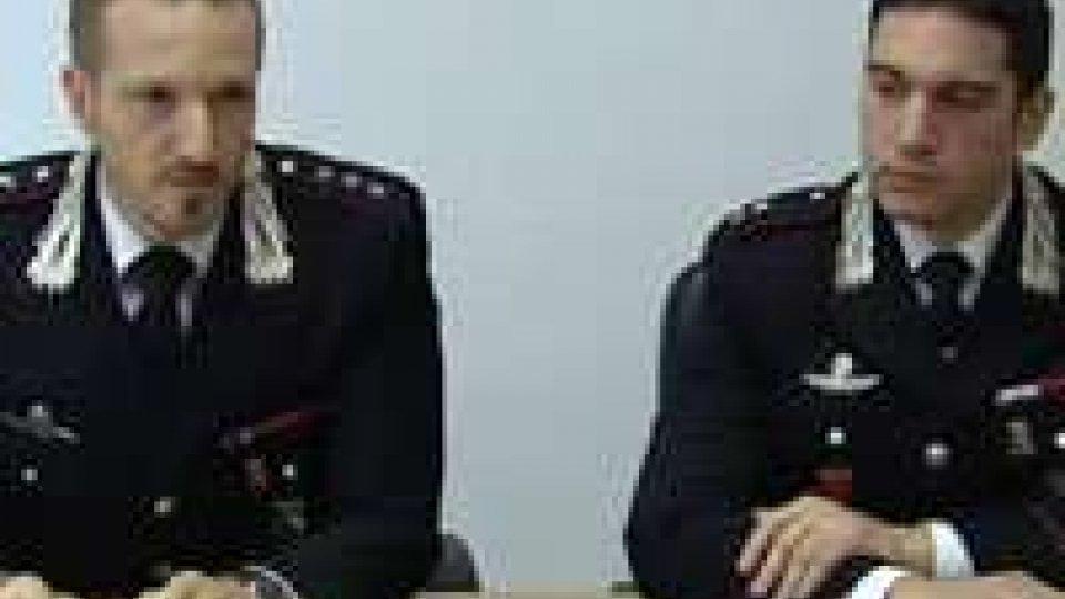 Arrestati dai Carabinieri di Riccione due pluripregiudicatiArrestati dai Carabinieri di Riccione due pluripregiudicati
