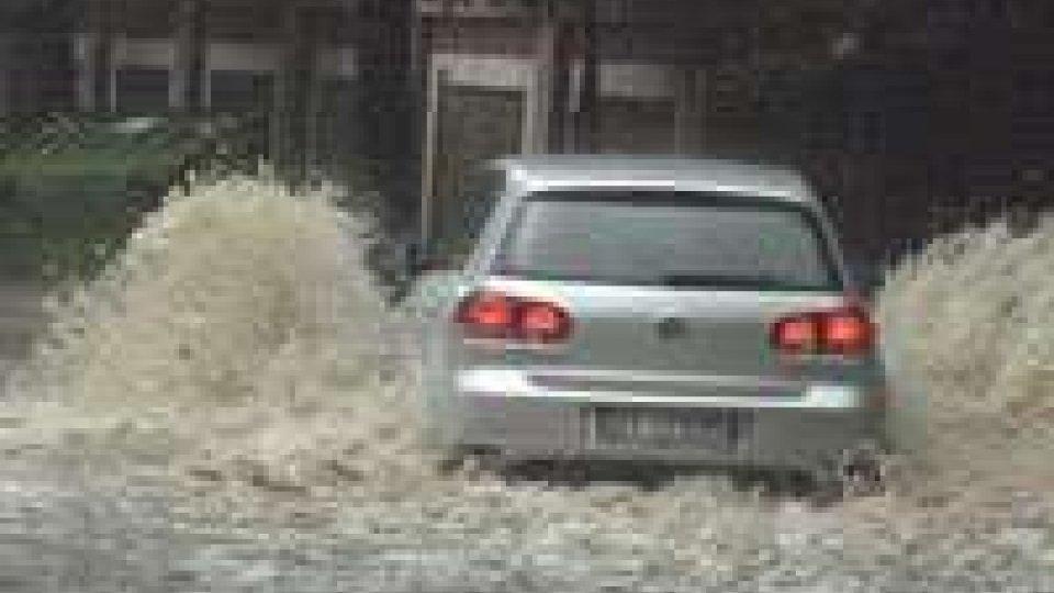 Violento temporale su Rimini: colpita soprattutto la zona dei Casetti