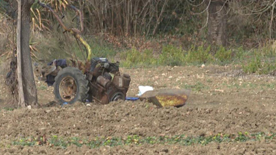 La motozappaTorre Pedrera: rimane incastrato nella motozappa, grave 78enne