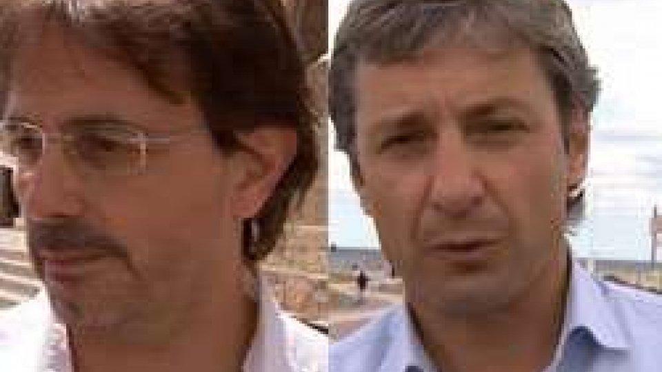 Luigi Camporesi e Andrea Gnassi