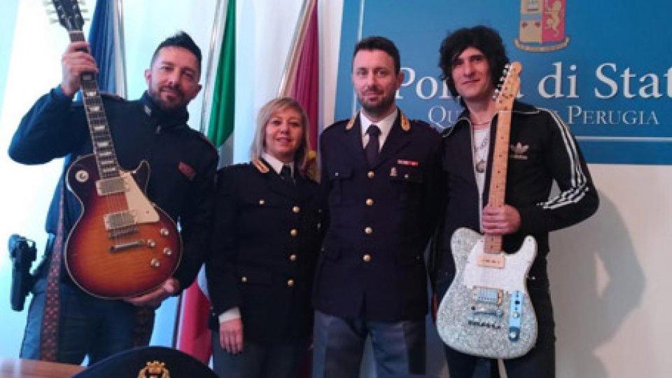 La restituzione al chitarrista Enrico Salvi