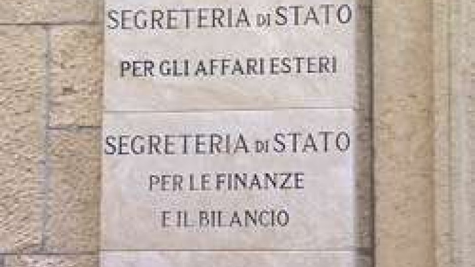 Palazzo Begni - Segreteria alle finanzePiano di stabilità nazionale: la crisi bancaria e l'indebitamento estero al centro della relazione