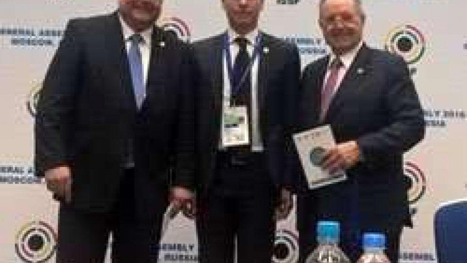 Il presidente federale Benedettini all'Assemblea Generale ISSF a Mosca