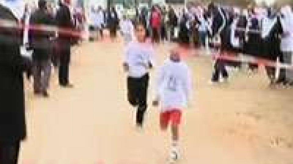 In centinaia alla maratona nella Striscia di Gaza