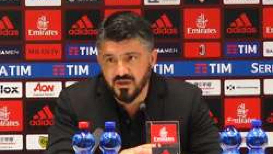 Gennaro GattusoMilan - Benevento 0-1, le parole di Gattuso dopo la sconfitta