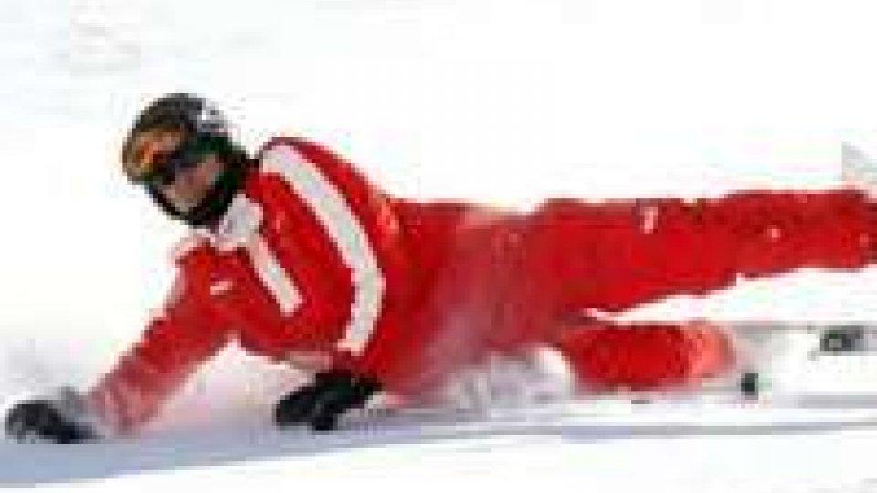 Michael Schumacher è in coma dopo la caduta sugli sci
