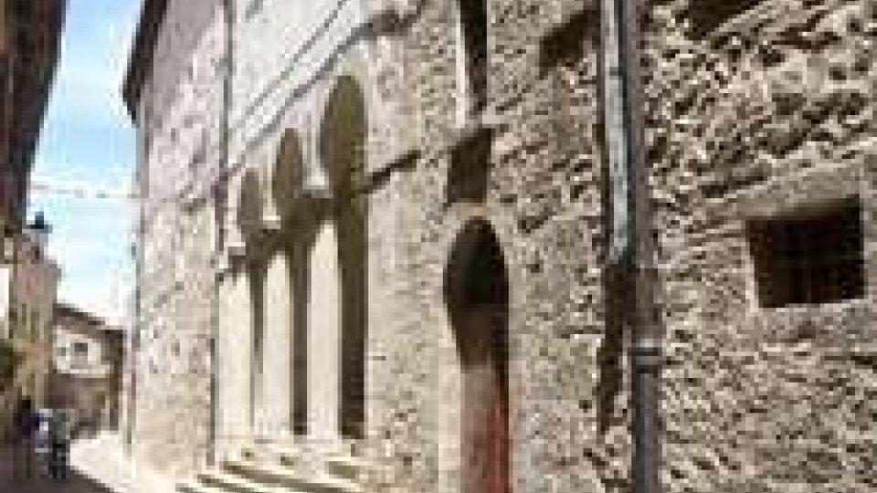 La Reggenza al concerto di musica sacra al monastero Santa Chiara