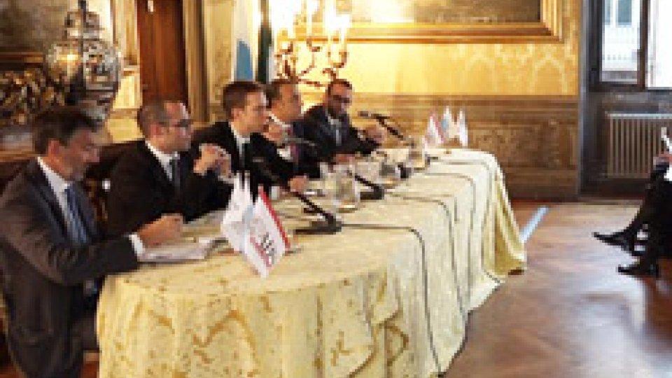 Incontro a Roma sul sistema bancario sammarineseA Roma le associazioni bancarie di Italia e San Marino si confrontano sul futuro del sistema bancario