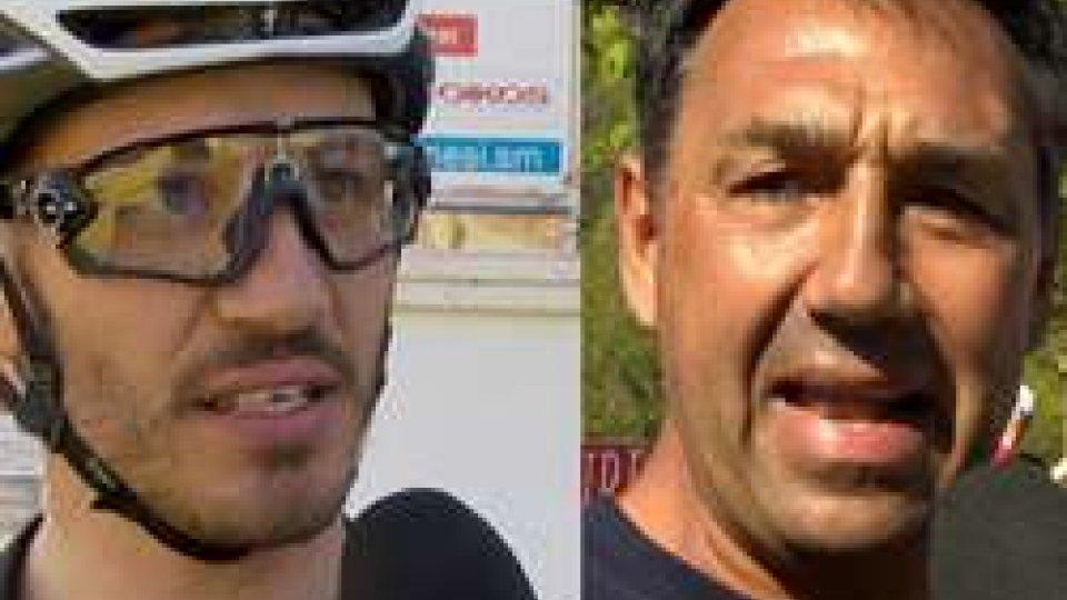 """Marco Poggiali e Walter BaldiserraPoggiali e Baldiserra: """"Una bella giornata di sport"""""""