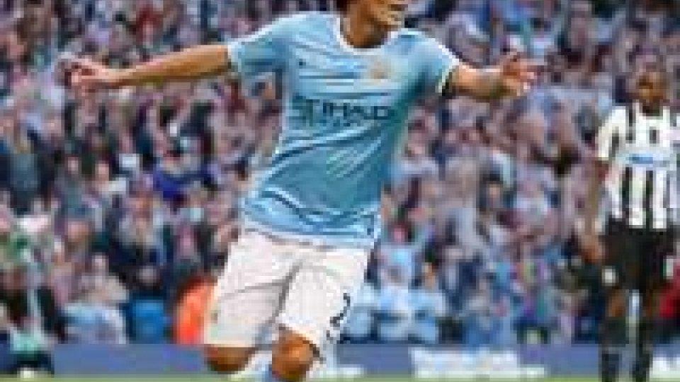 Il City riparte dal poker: 4-0 al Newcastle.