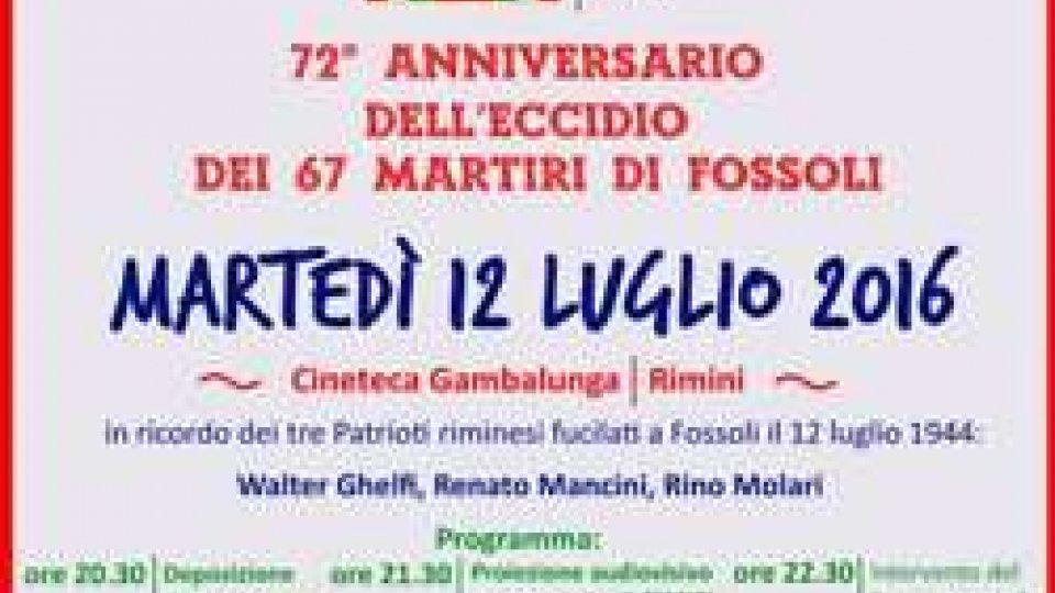 Iniziativa in ricordo di Ghelfi,Mancini,Molari