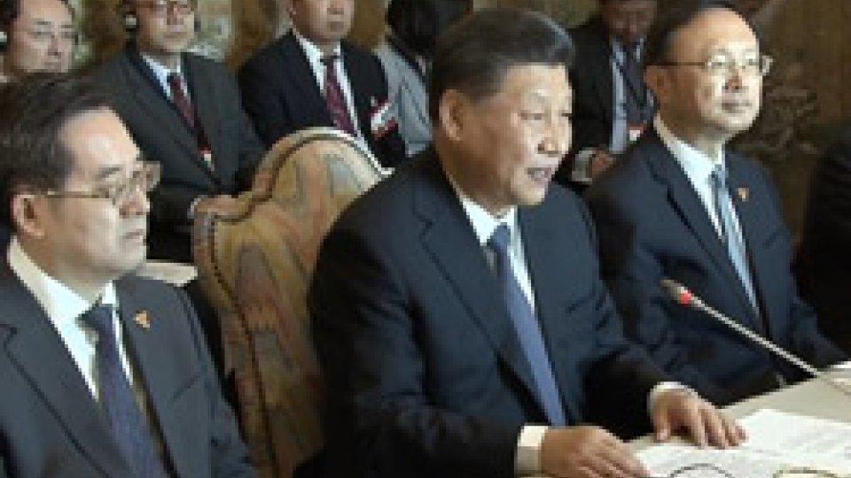 """Xi Jinping""""Via della Seta"""": firmato l'accordo Italia - Cina"""