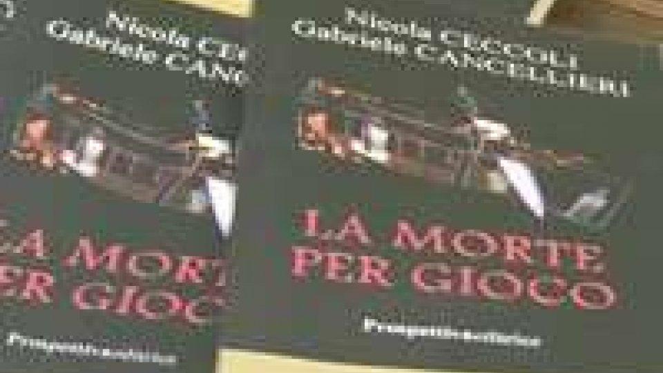 """Romanzo """"MORTE PER GIOCO"""" (d'esordio) alla BIBLIOTECA di STATO"""