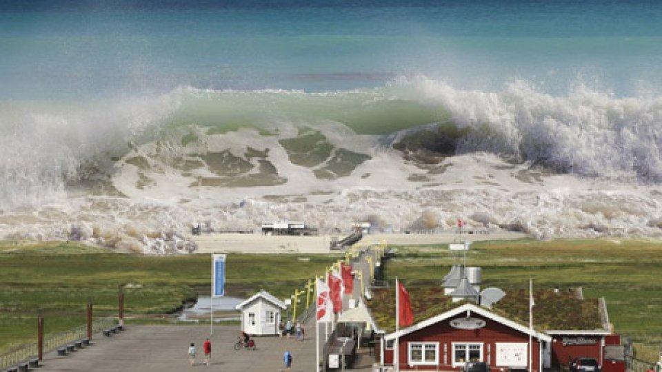 Tsunami a St. Peter-Ording