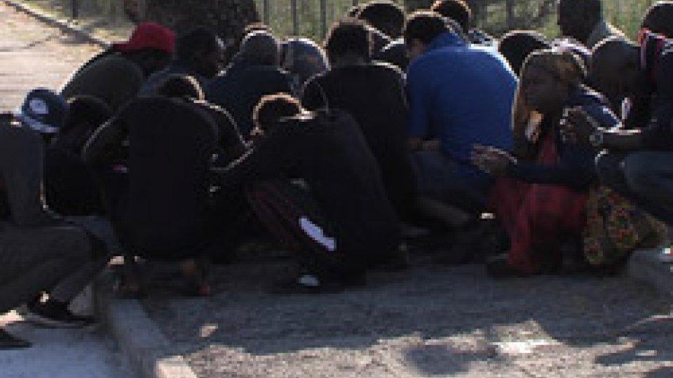 la preghiera attorno all'alberoSecchiano: perde la vita senegalese di 50 anni