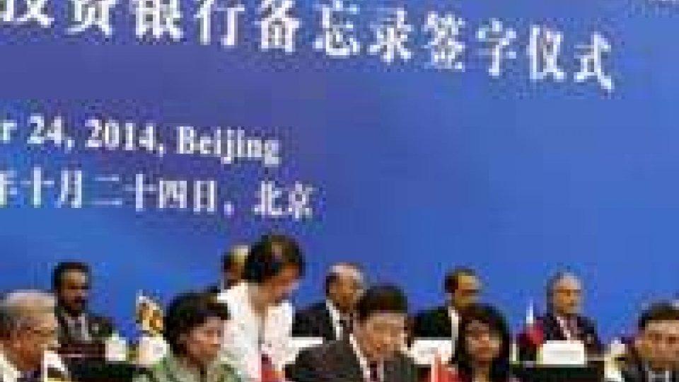 "AIIB: San Marino, al momento, non aderisce all'""alternativa cinese"" alla Banca MondialeAIIB: San Marino, al momento, non aderisce all'""alternativa cinese"" alla Banca Mondiale"
