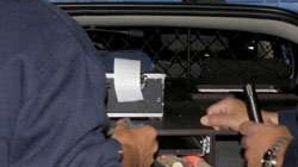 San Marino: ubriaco al volante esce di strada, è accaduto a Fiorentino