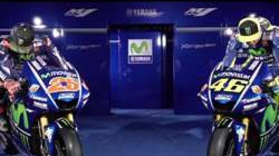 Presentata a Madrid la nuova M1 di Valentino Rossi e Maverick VinalesMotoGP: Presentata a Madrid la nuova M1 di Valentino Rossi e Maverick Vinales