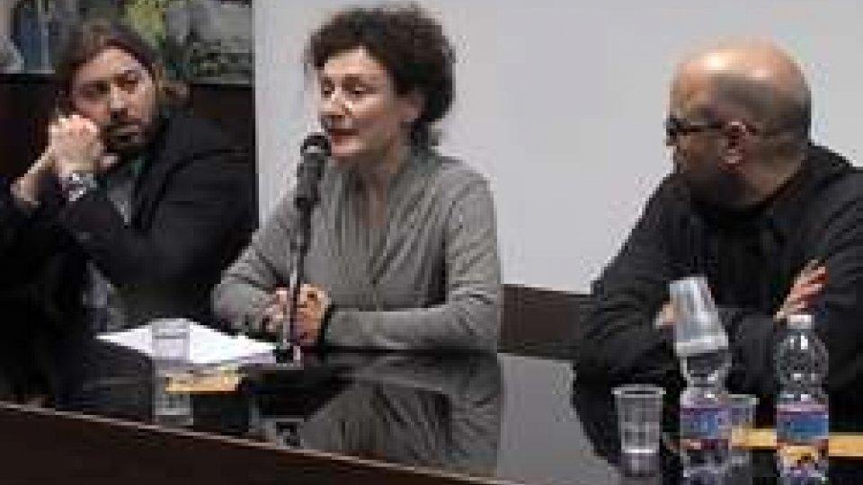 Sara Prestianni con Federico Pedini Amati e Roberto Ciavatta