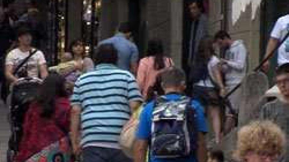 Turismo: oggi grande affluenza di turisti dalla Riviera ma l'Usot prevede un calo a due cifre a fine stagioneTurismo: oggi grande affluenza dalla Riviera ma l'Usot prevede un calo a due cifre a fine stagione