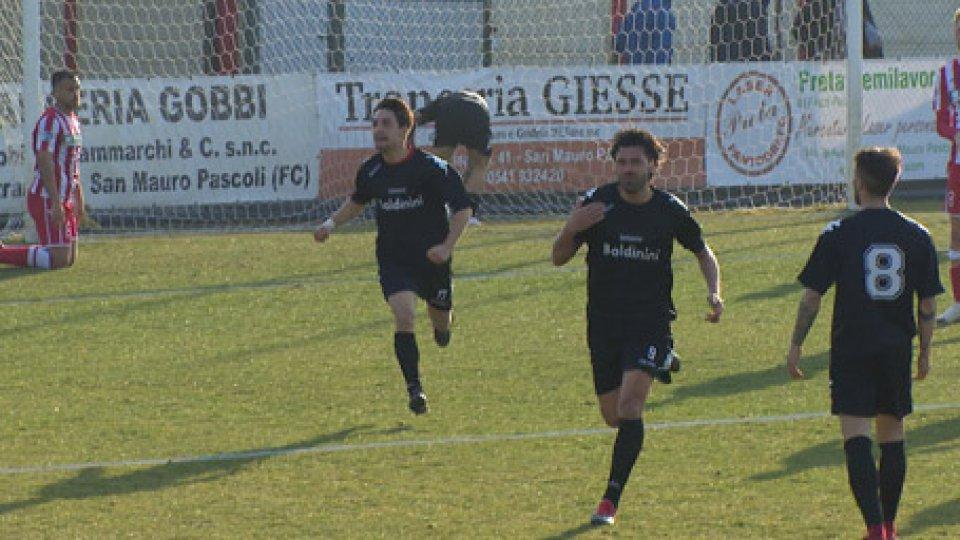 Sammaurese - Forlì 1-1Forlì beffato al 94°, la Sammurese strappa l'1-1