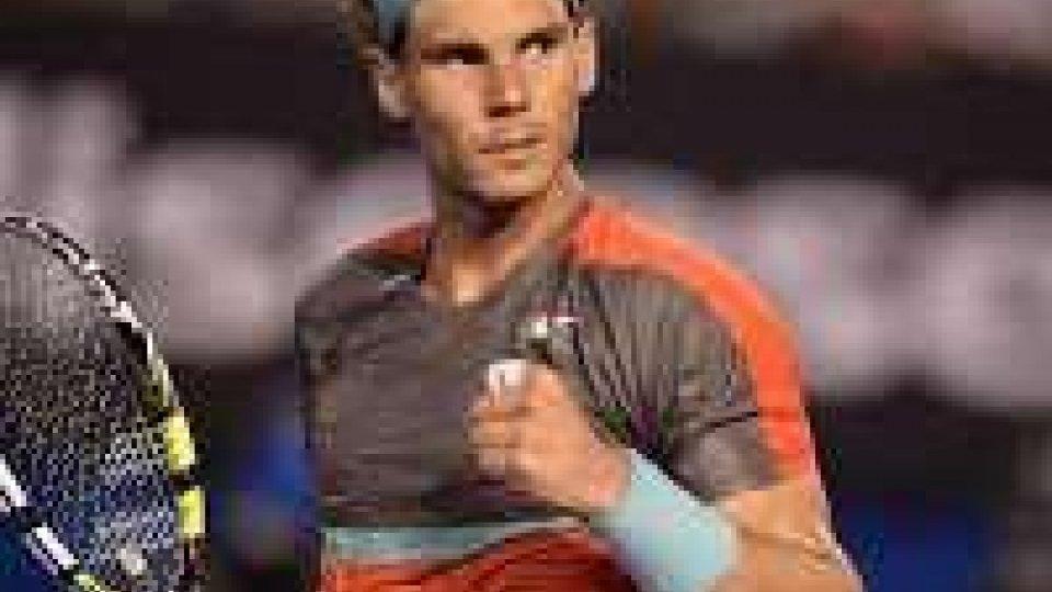 Tennis: Australia, avanzano Nadal e Murray