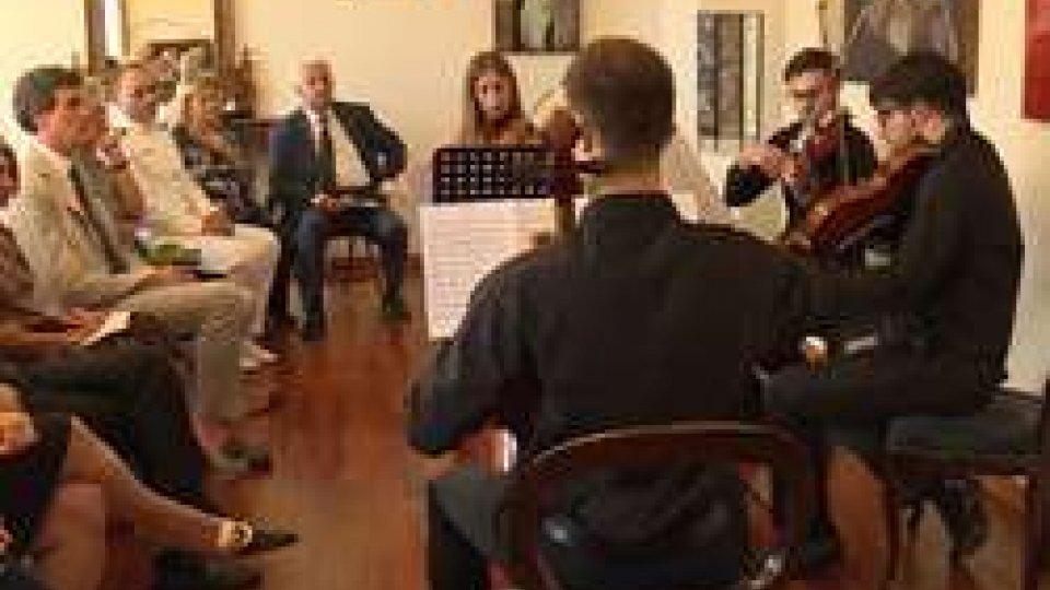 Conservatorio Rossini ospite all'Ambasciata italianaFesta Musica: Conservatorio Rossini ospite Ambasciata italiana