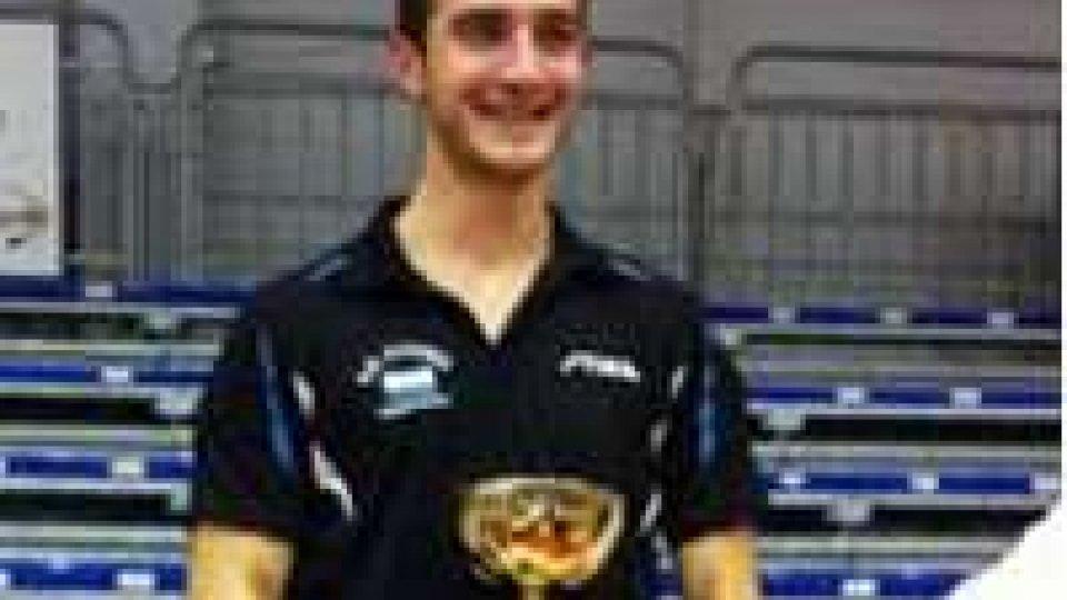 Tennis Tavolo, bronzo per Federico Baciocchi ai campionati italiani
